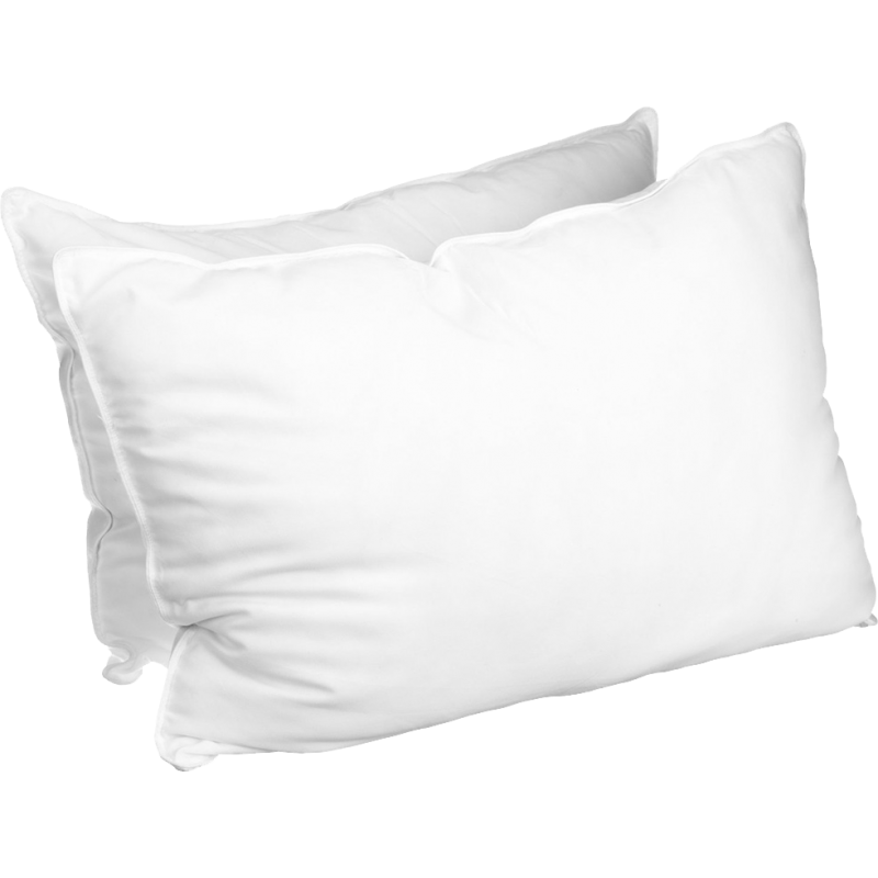 Luxurious Down Alternative Solid Pillows (set of 2)
