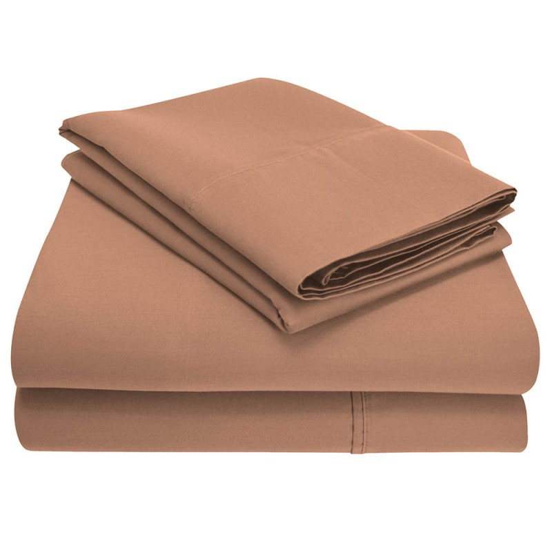 1200tc Cotton Rich Solid Sheet Set