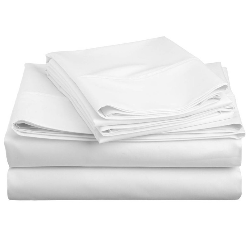 600tc Cotton Rich Solid Sheet Set