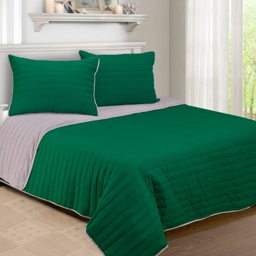 Brandon 100% Cotton Quilt Set