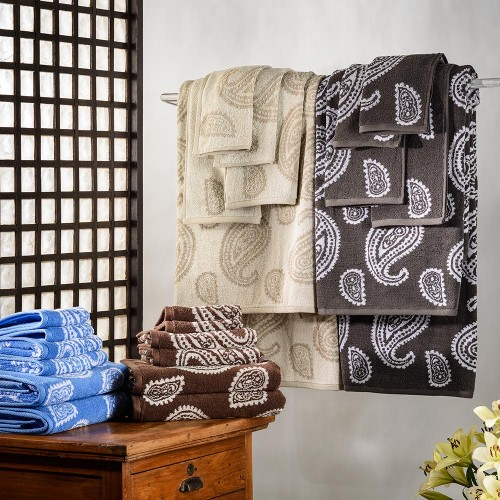 Paisley 100% Cotton 6-Piece Towel Set