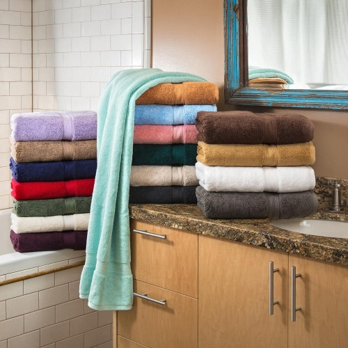 900GSM Premium Cotton 6-Piece Towel Set
