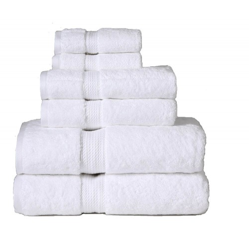 900GSM Egyptian Cotton 6-Piece Towel Set