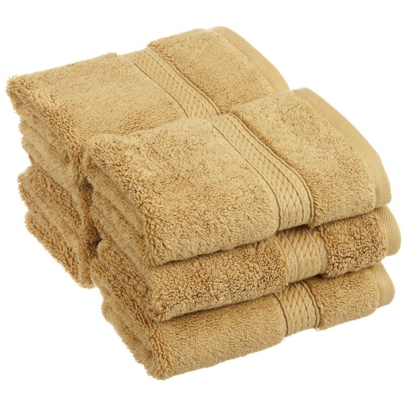 Egyptian Cotton 900GSM 6pc Face Towel Set