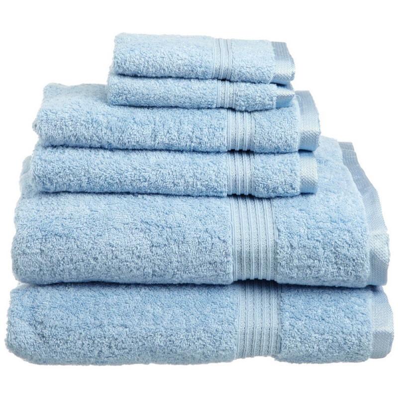 600 GSM Egyptian Cotton 6-piece Towel Set