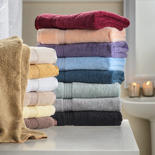 600 GSM Premium Cotton 4pc Bath Towel Set