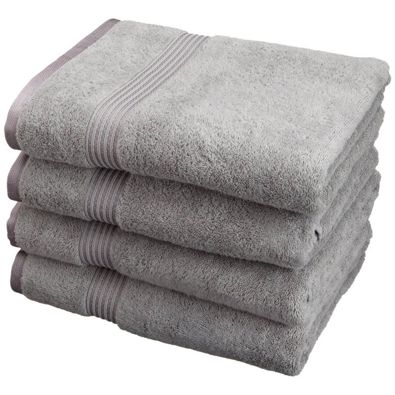 600 GSM Egyptian Cotton 4pc Bath Towel Set