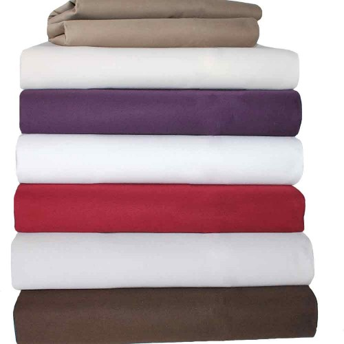 1500 Thread Count Cotton Solid Duvet Cover Set