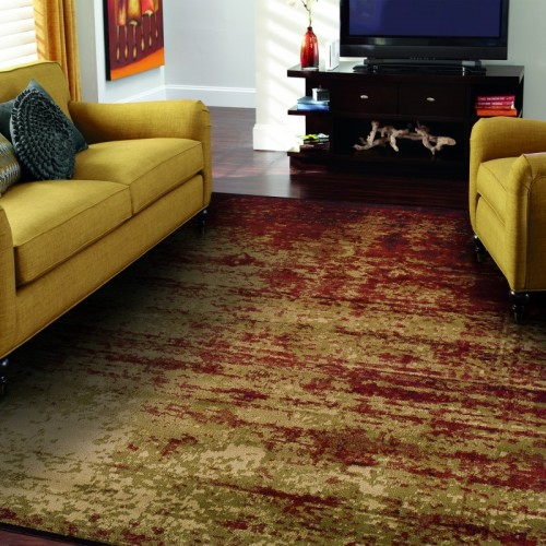 Modern Afton Acid Wash Area Rug Collection