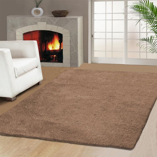 Hand Woven Elegant And Soft Shag Rug