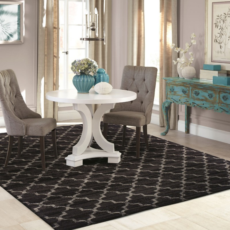Designer Trellis Area Rug Collection