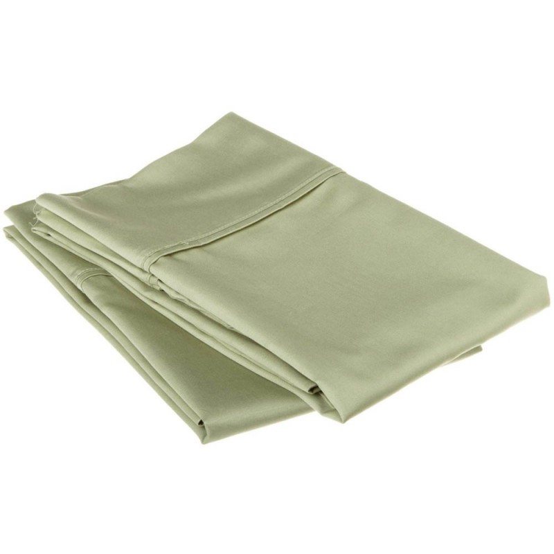 530tc Egyptian Cotton Solid Pillowcase Set