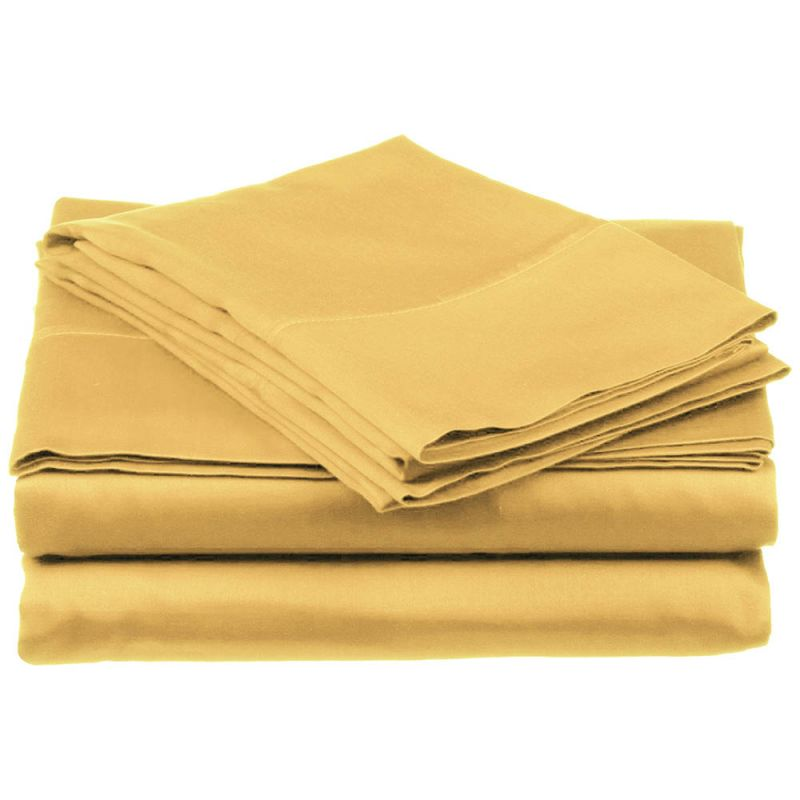 800tc Egyptian Cotton Solid Sheet Set