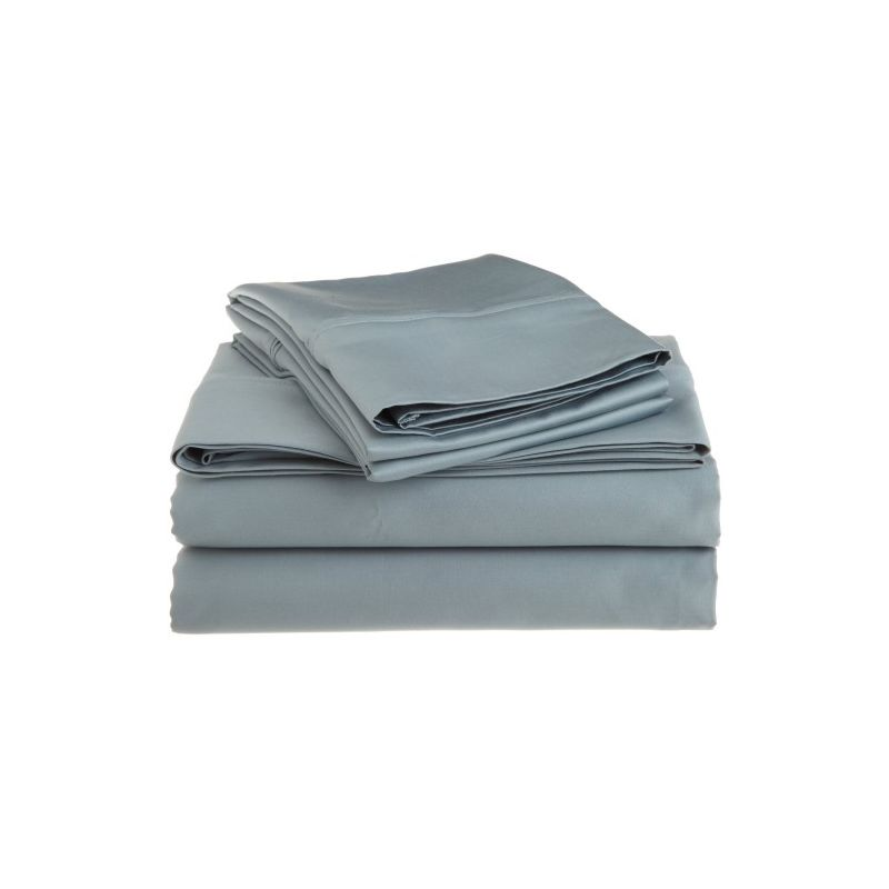 1200tc Egyptian Cotton Solid Sheet Set