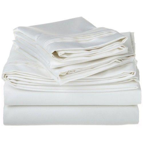 1000tc Egyptian Cotton Solid Sheet Set