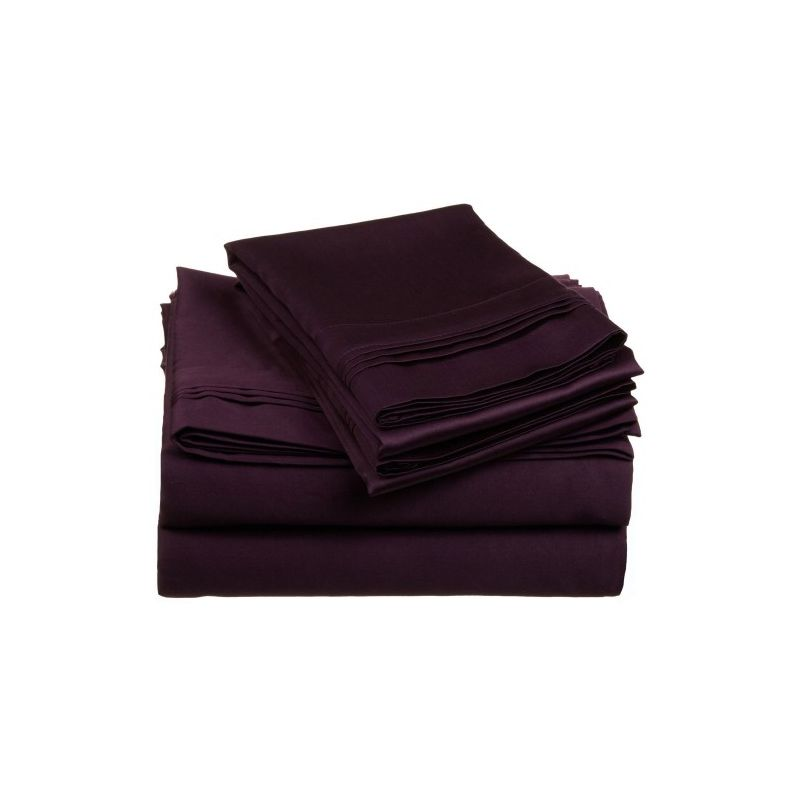 650tc Egyptian Cotton Solid Sheet Set