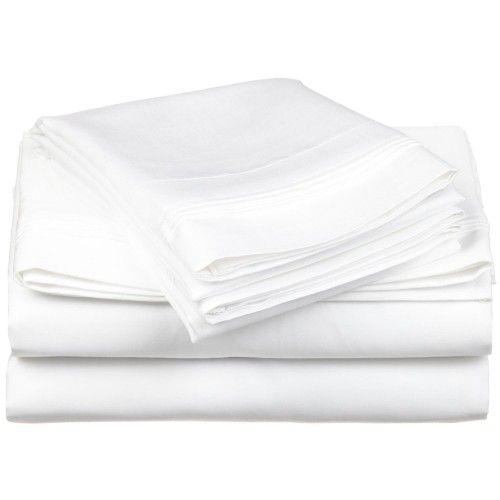 650tc Egyptian Cotton Solid Sheet Set