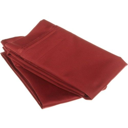 1000tc 100% Premium Long Staple Combed Cotton Solid Pillowcase Set