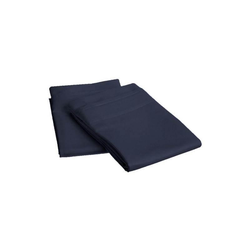 1000tc 100% Premium Long Staple Combed Cotton Solid Pillowcase Set