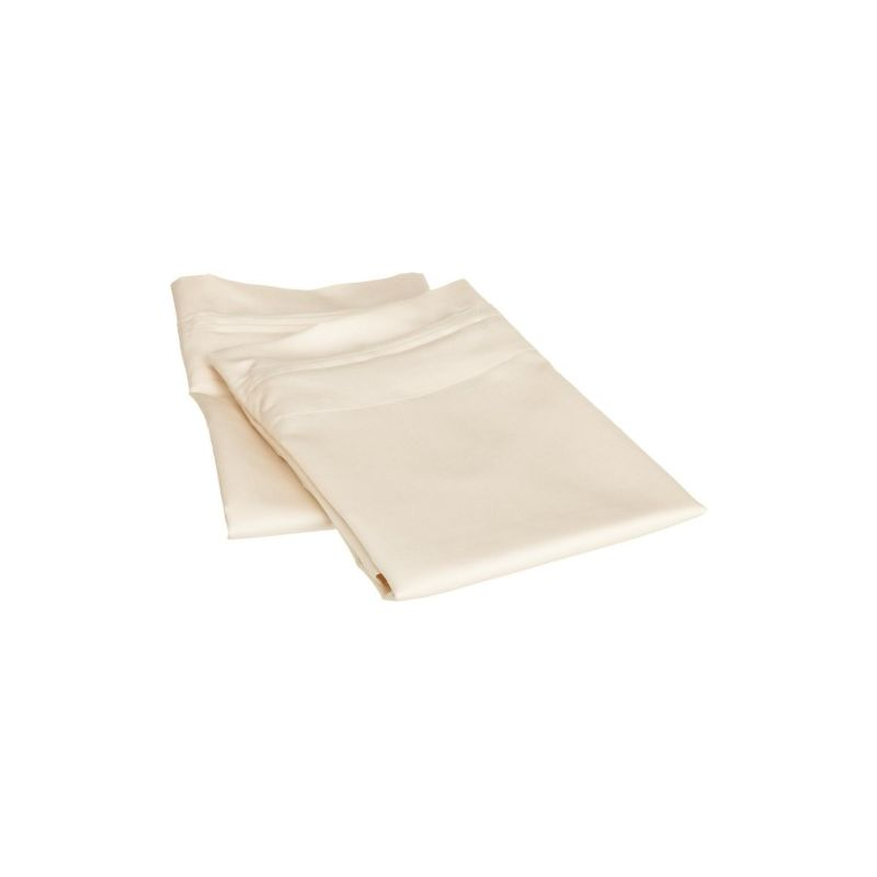 650tc Egyptian Cotton Solid Pillowcase Set