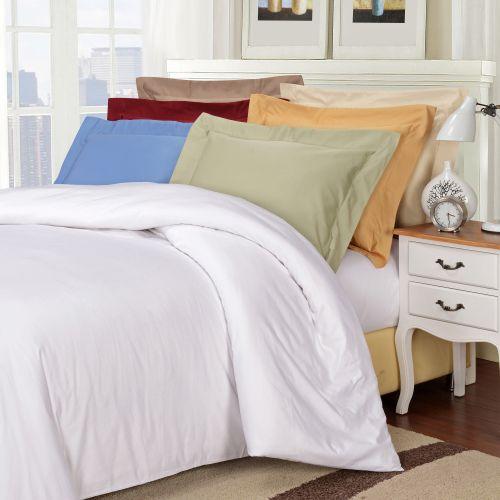 1000tc Egyptian Cotton Solid Duvet Set