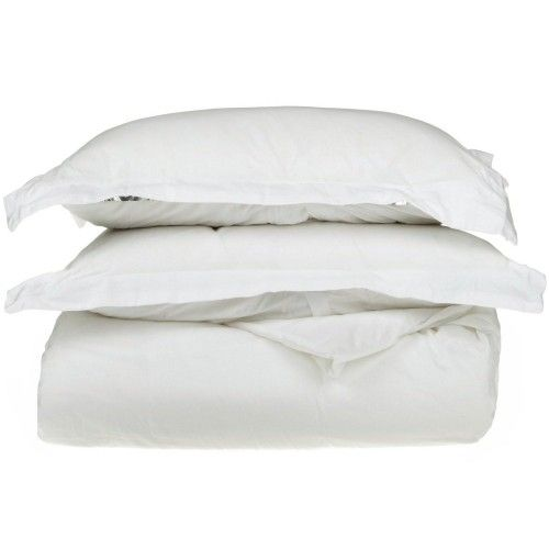 1200tc Egyptian Cotton Solid Duvet Set