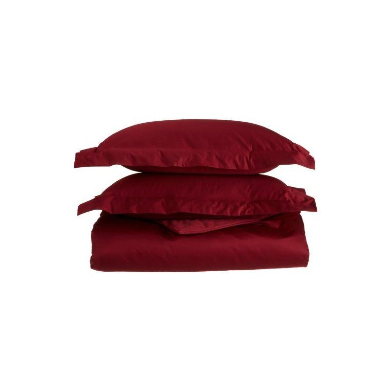 1200tc Egyptian Cotton Solid Duvet Set