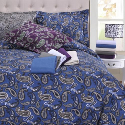 Flannel Cotton Duvet Cover Set