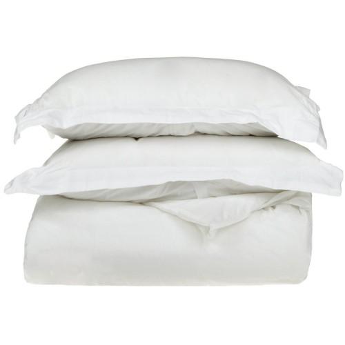 800tc Cotton Solid Duvet Set