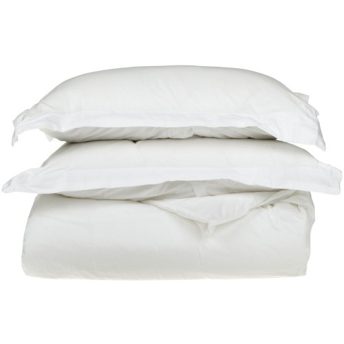 530tc Egyptian Cotton Solid Duvet Set