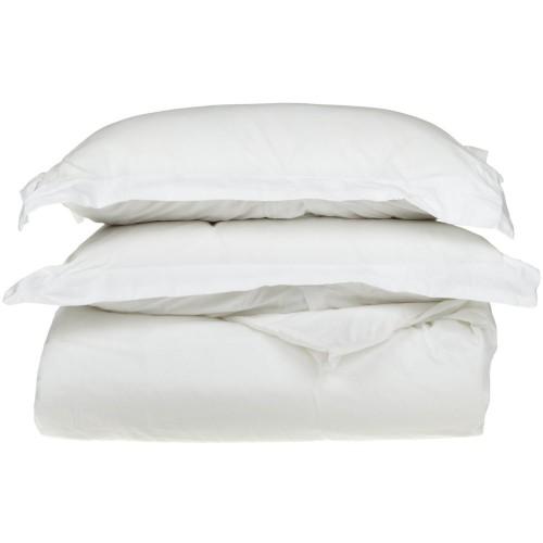 530tc Premium Cotton Solid Duvet Set