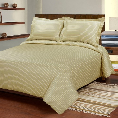 600tc Cotton Rich Bahama Stripe Duvet Set