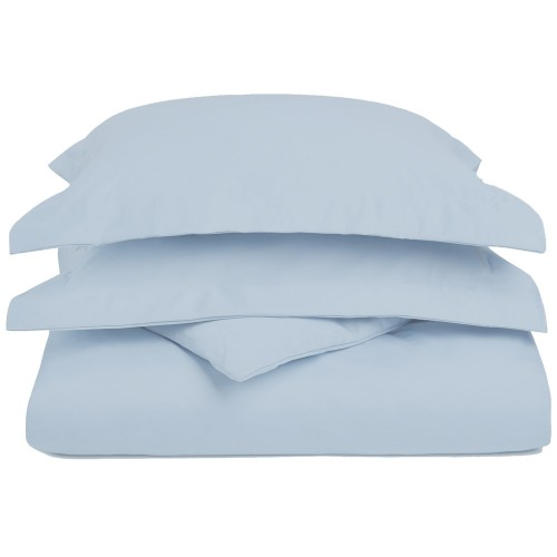 1200tc Cotton Rich Solid Duvet Set