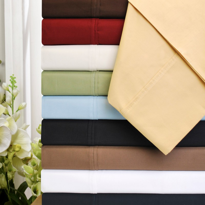 530tc Premium Cotton Solid Sheet Set