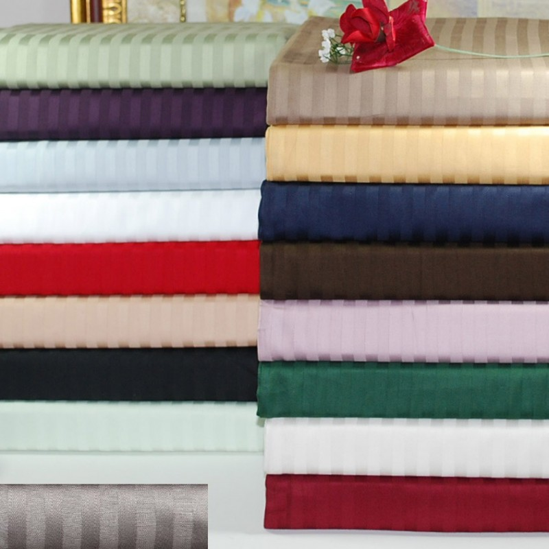 300tc Egyptian Cotton Stripe Sheet Set