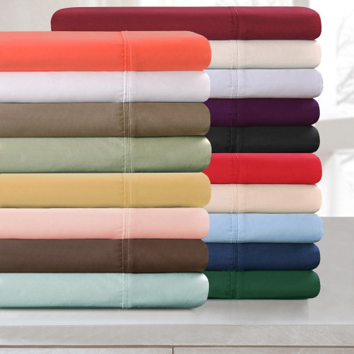 300tc Premium Cotton Solid Sheet Set