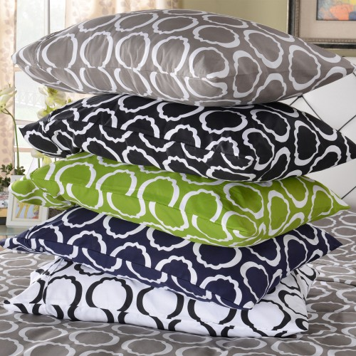 600tc Cotton Rich Scroll Park Sheet Set