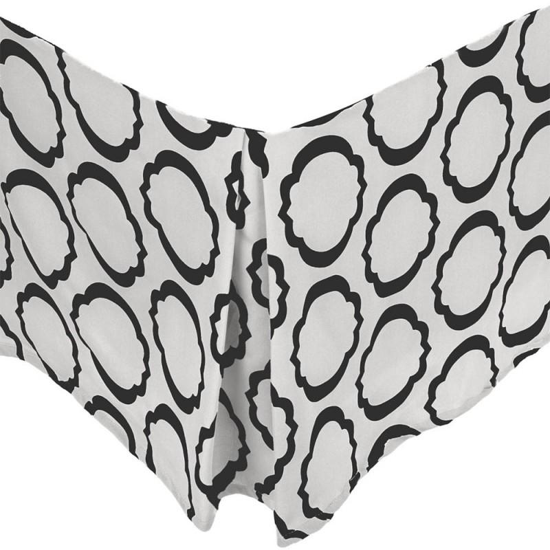 600tc Cotton Rich Scroll Park Bed Skirt