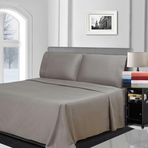 800tc Premium Cotton Solid Pillowcase Set