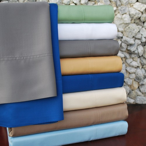 300tc Rayon from Bamboo Pillowcase Set
