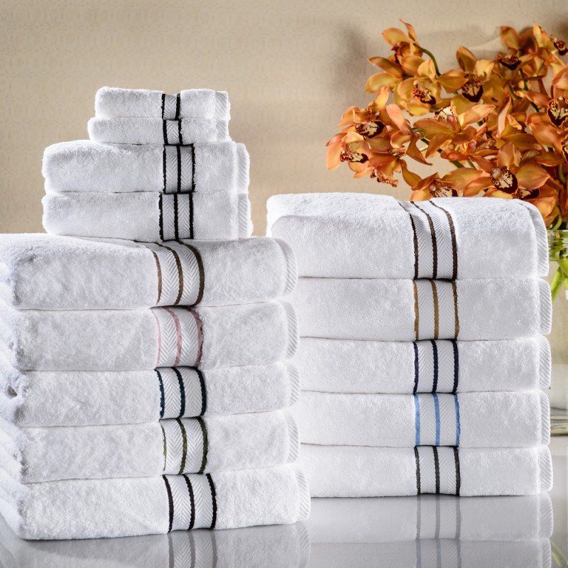 Hotel Collection 900 GSM Egyptian Cotton 6-piece Towel Set