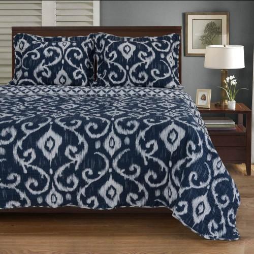 Cambridge 100% Cotton Quilt Set