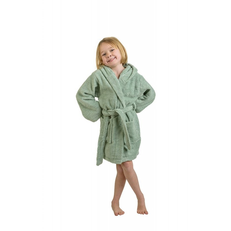 Premium Cotton Kids Hooded Unisex Terry Robes