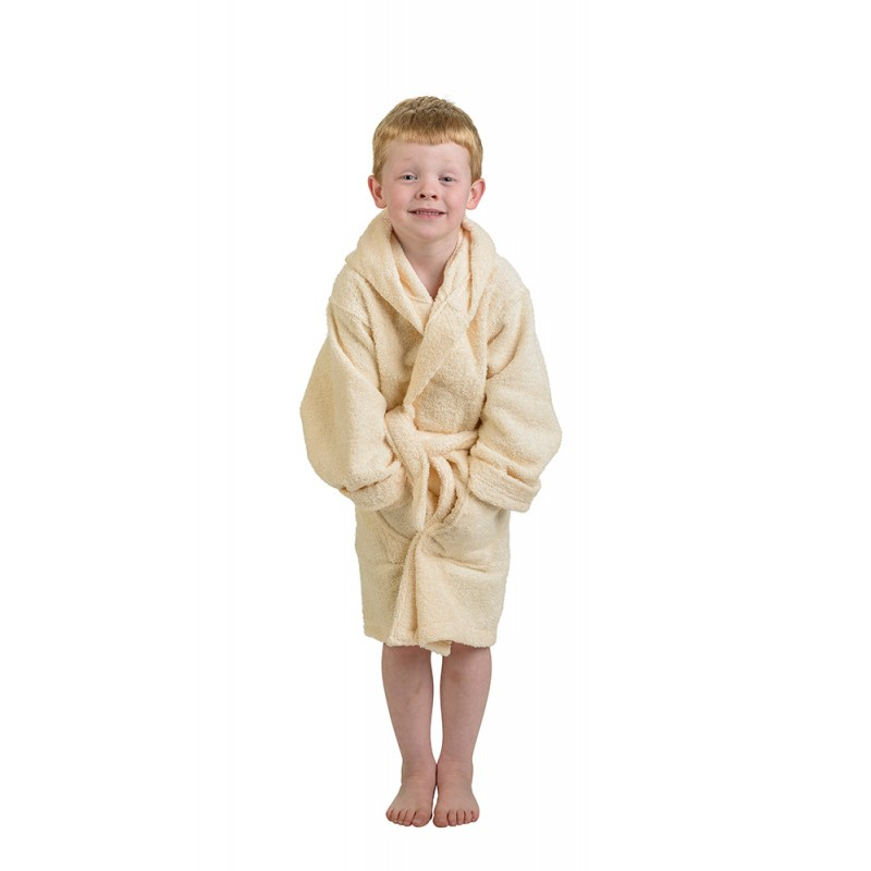 Premium Cotton Kids Hooded Unisex Terry Robes - Egyptian Cotton Sheets 44f0ed7b3