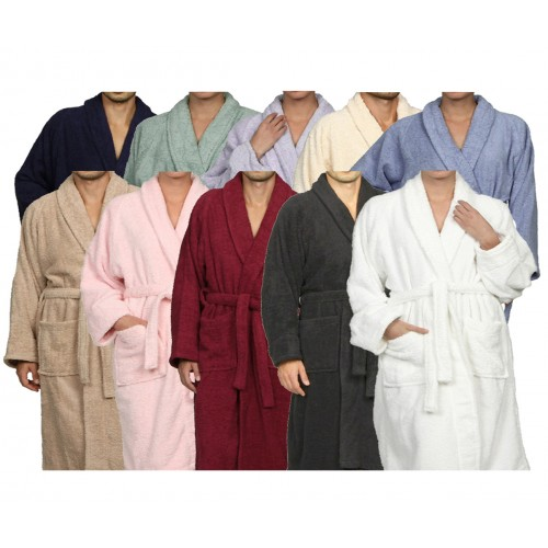 Premium Cotton Unisex Terry Robes