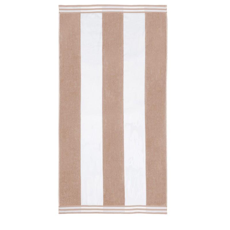 100% Cotton Cabana Stripes Oversized Beach Towel