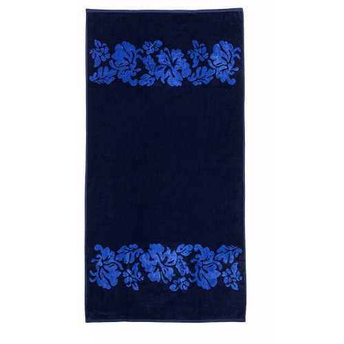 100% Cotton Beach Flowers Oversized Beach Towel