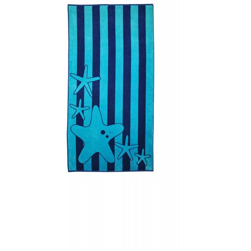 100% Cotton Starfish Oversized Beach Towel