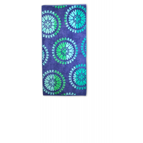 100% Cotton Spinning Wheels Oversized Beach Towel