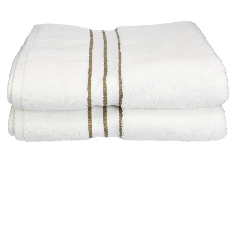 Hotel Collection 900 GSM Egyptian Cotton 2-piece Bath Towel Set